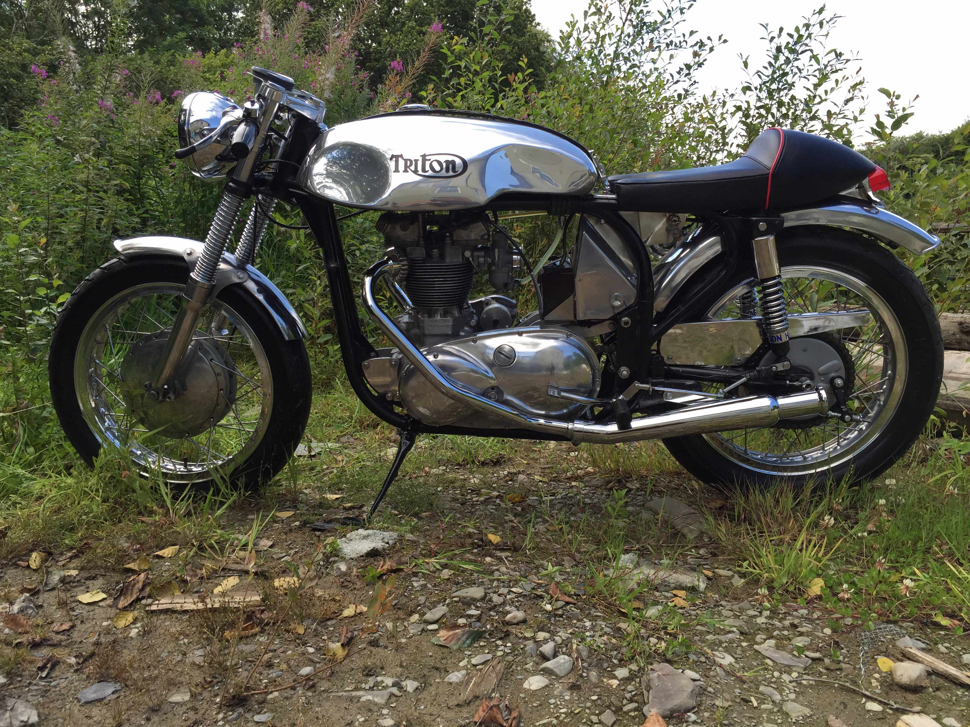 Triton 1964 Cafe Racer Waccy Restorations And Repairs